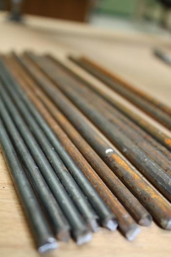 Armatures en acier