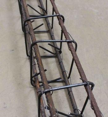Cage d'armatures complète