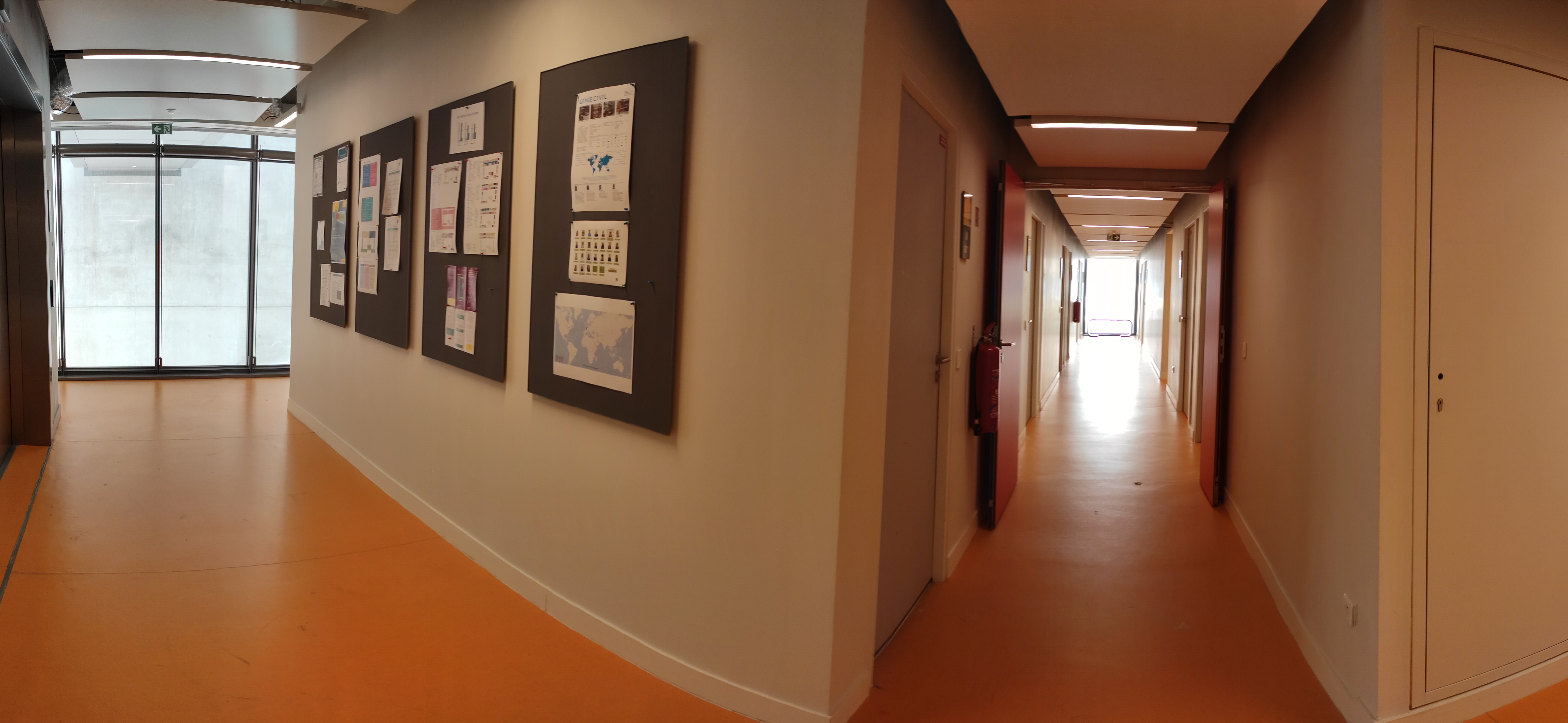 Les bureaux - niveau Mezzanine